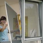 Москитные сетки – приятное дополнение к пластиковым окнам